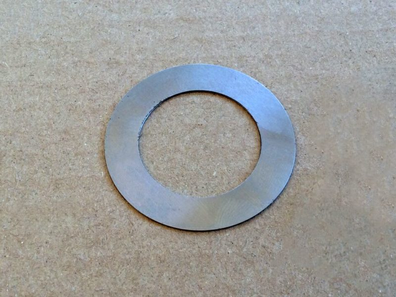 "060687 Norton Commando front engine mounting shim 0.010"" - Classic Bike Spares"