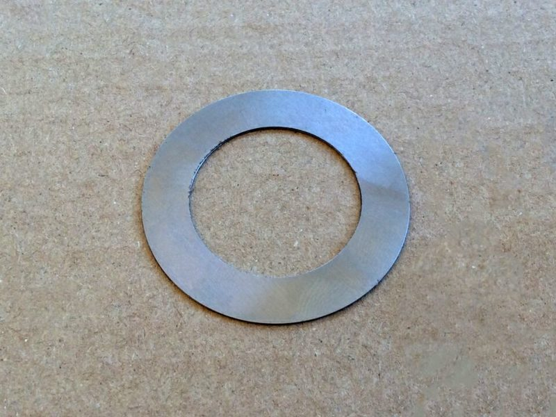 060689 Norton Commando front engine mounting shim 0.030 - Classic Bike Spares
