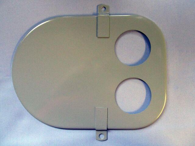 Norton Commando air filter front plate - Classic Bike Spares