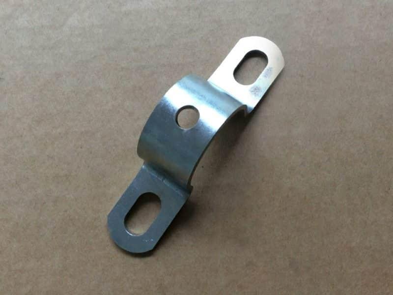 061121 Norton Commando rear mudguard clip bracket - Classic Bike Spares
