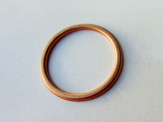 Norton exhaust pipe sealing washer copper - Classic Bike Spares