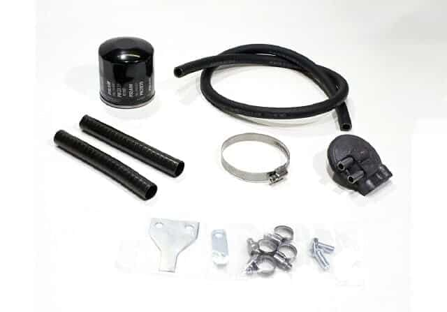 Norton oil filter & pipes kit - Classic Bike Spares