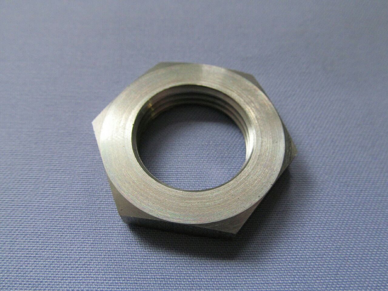 067781 Norton Commando fork yoke steering stem bottom lock nut - Classic Bike Spares