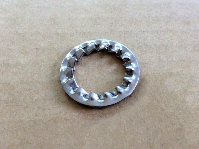 Norton Commando & Triumph crankshaft rotor nut washer - Classic Bike Spares