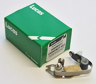 Lucas contact set, Norton & Triumph twins - Classic Bike Spares