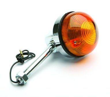 Indicator light assembly, short - Classic Bike Spares