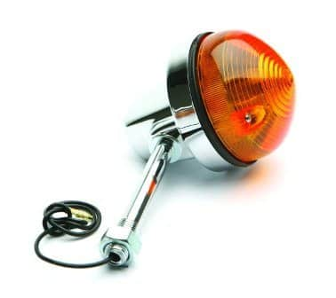 Indicator light assembly, long - Classic Bike Spares