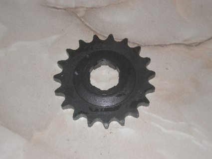 Norton Commando gearbox sprocket, 19T - Classic Bike Spares
