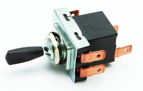 Replica Lucas 3 position toggle switch - Classic Bike Spares