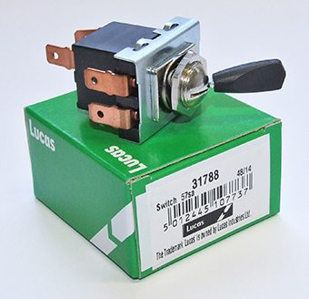 31788 Lucas 3 position toggle switch - Classic Bike Spares