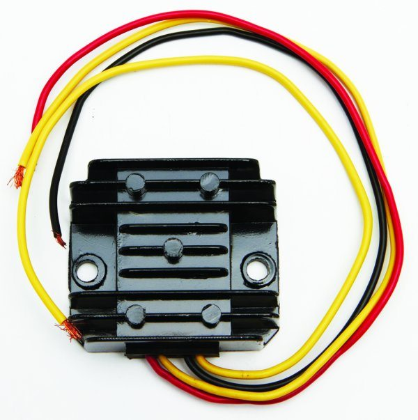 Solid state, single phase rectifier/regulator, 12V - Classic Bike Spares