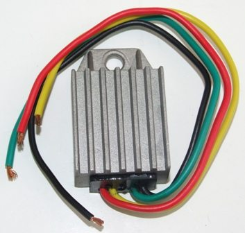 Wassell solid state 6V DC regulator - Classic Bike Spares