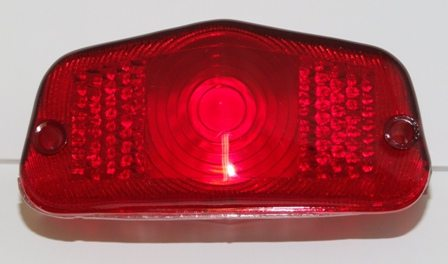 Replica lens for Lucas 564 rear light - Classic Bike Spares