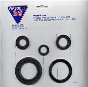 Oil seal kit, BSA A50/A65 - Classic Bike Spares