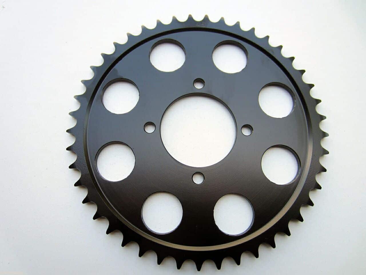 377072 Triumph T140 disc brake rear sprocket 45T - Classic Bike Spares