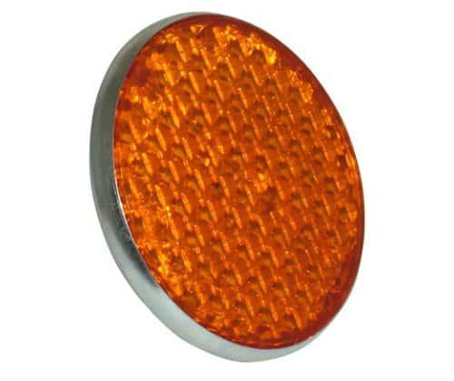 Replica Lucas amber reflector - Classic Bike Spares