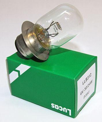 Lucas headlight bulb 6V BPF - Classic Bike Spares