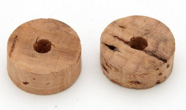 Tap plunger cork, flat - Classic Bike Spares