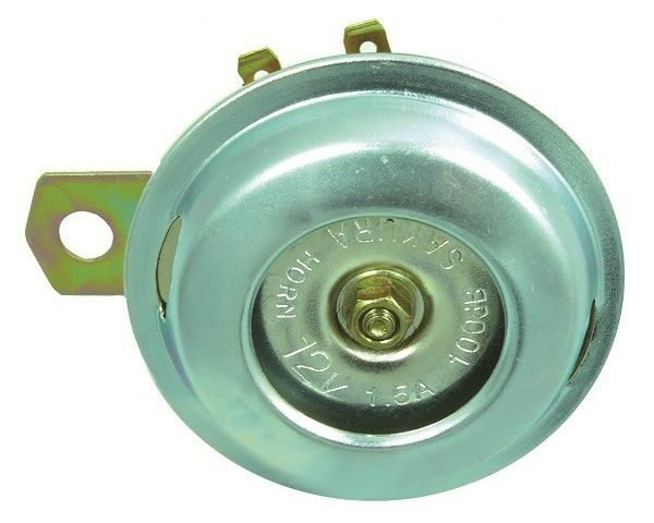 Small 12 volt horn - Classic Bike Spares