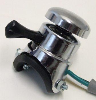 Replica Lucas horn/dip switch, screw on - Classic Bike Spares