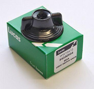 Lucas lighting switch knob - Classic Bike Spares