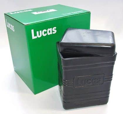 Lucas battery box, large - Classic Bike Spares