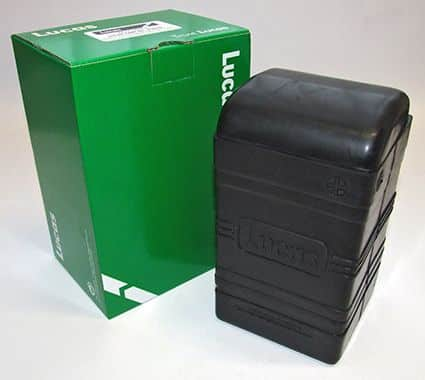 Lucas battery box, small - Classic Bike Spares