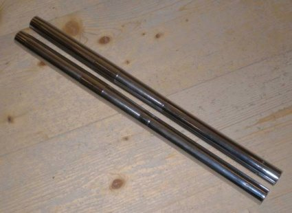 Fork Stanchions, BSA pre shuttle valve - Classic Bike Spares