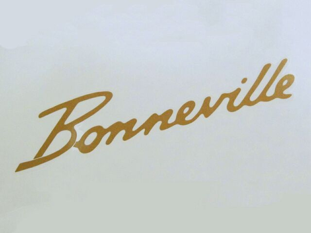 600680 Side Cover Transfer Bonneville T120 - Classic Bike Spares