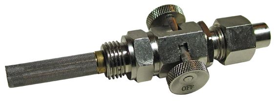 Push on, pull off petrol tap - Classic Bike Spares