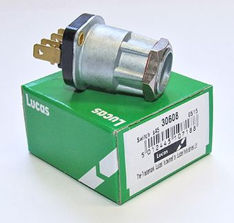 Lucas ignition switch body, 2 position - Classic Bike Spares