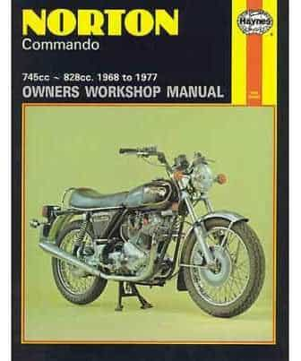 Haynes Manual, Norton Commando - Classic Bike Spares