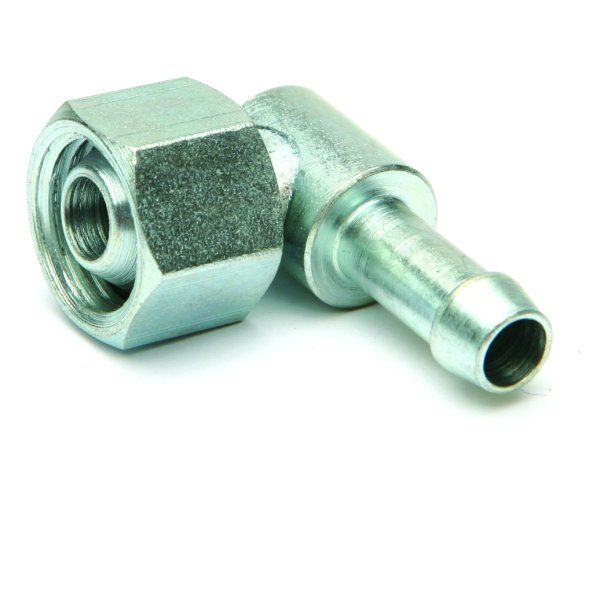90 degree elbow with 1/4 gas nut - Classic Bike Spares