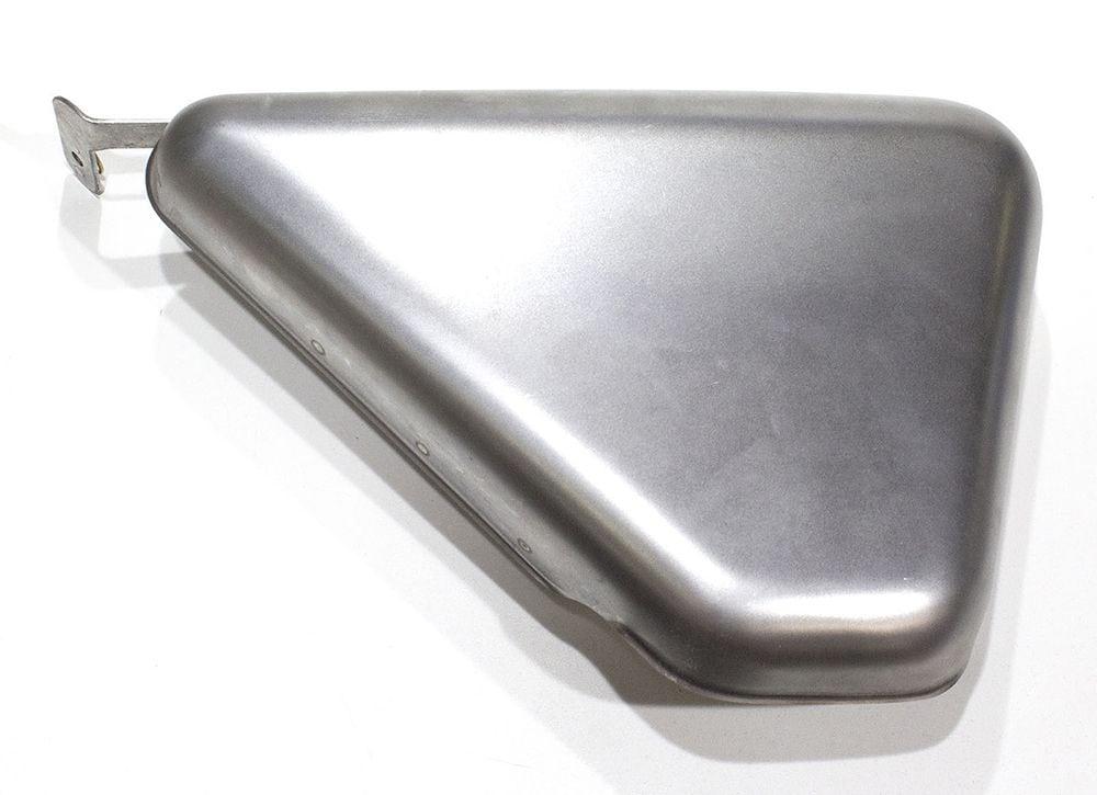063503 Norton Commando Roadster left hand side cover, steel