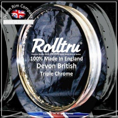 Devon British Chrome rim