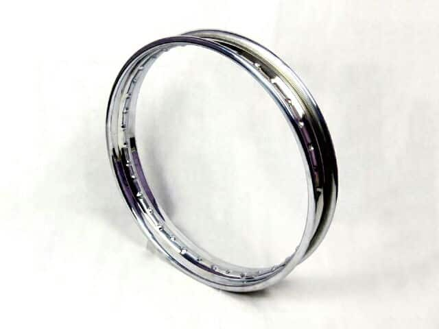 Wheel rim, stainless steel - Classic Bike Spares