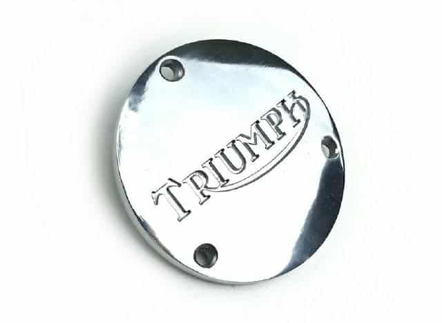 Triumph rotor inspection cover