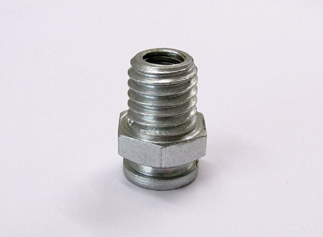 Triumph/BSA clutch cable abutment adapter