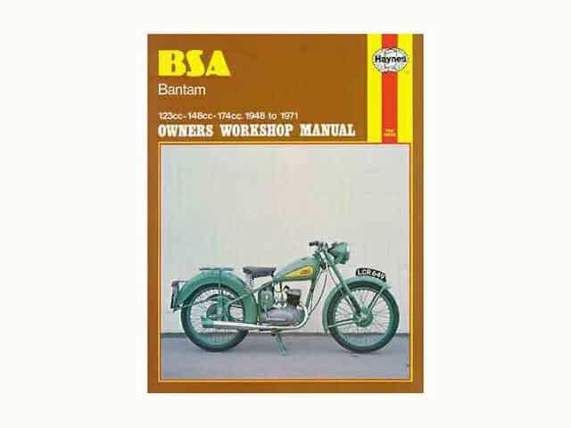 Haynes manual, BSA Bantam - Classic Bike Spares