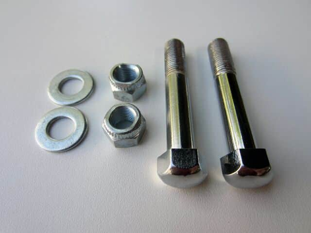 Triumph bottom yoke pinch bolt set - Classic Bike Spares