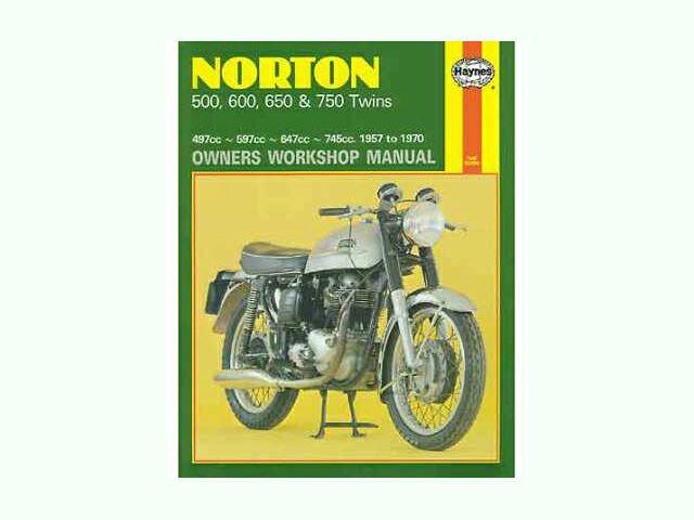 Haynes manual for Norton twins 1957-70
