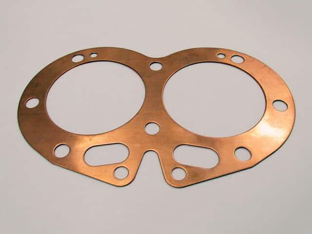 06-0400 Norton Commando 750 cylinder head gasket solid copper