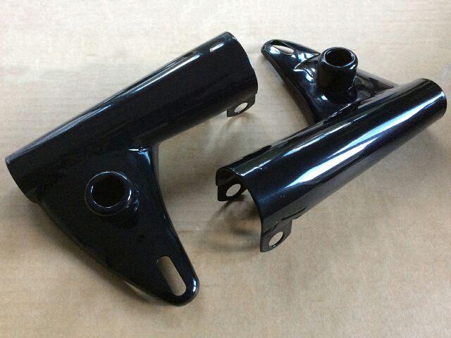 972161/2 Triumph headlight brackets 1968-70 - Classic Bike Spares
