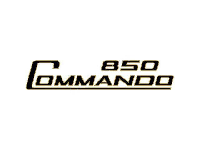 064014R Norton Commando 850 side cover transfer - Classic Bike Spares