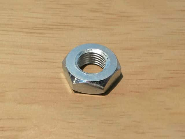 030720 BSA rear brake drum nut QD hub 1947-55 - Classic Bike Spares