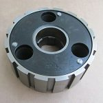 574435 Triumph BSA 3 spring clutch centre hub assembly from 1972