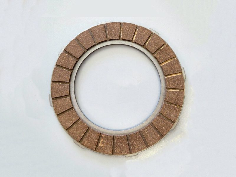 023930 Norton AMC clutch friction plate with external tabs - Classic Bike Spares