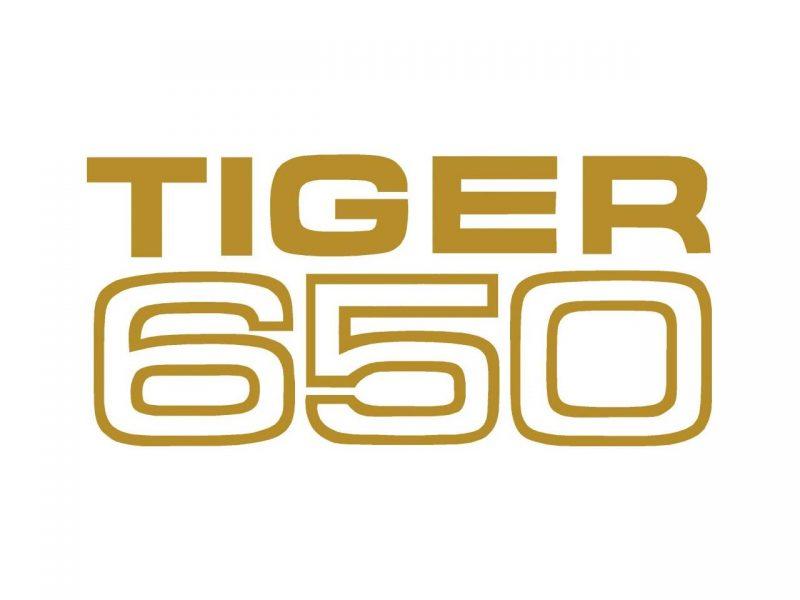602102 Triumph TR6R Tiger 650 transfer - Classic Bike Spares
