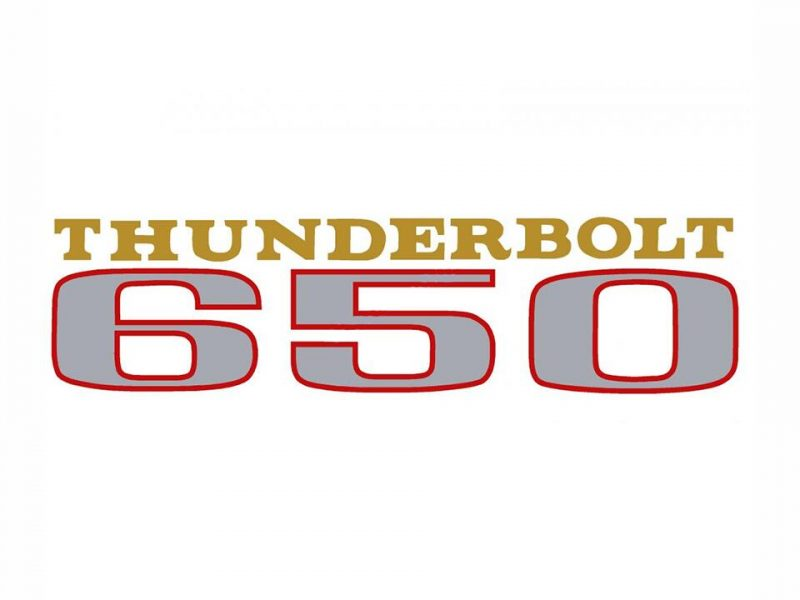 602375 Thunderbird 650 transfer - Classic Bike Spares