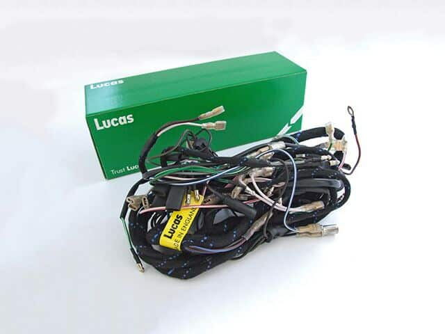 991260 Lucas wiring harness, Triumph T150V 1973-75 - Classic Bike Spares